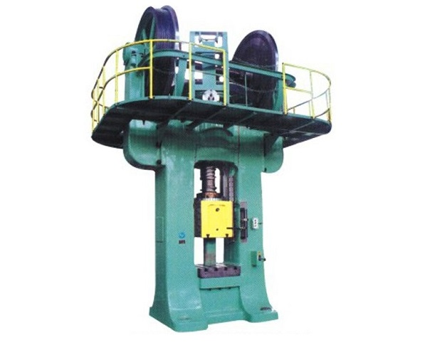 1600T double-disc refractory friction screw press machine