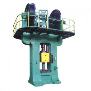 6000T double-disc friction brick press