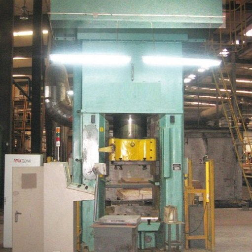 6300 KN Electric Refractory Automatic Press